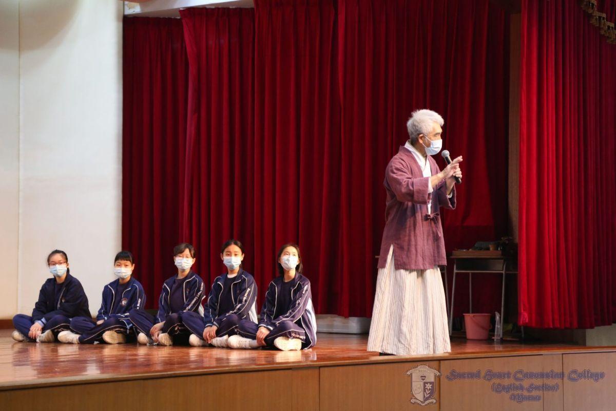 羅慶江老師講述澳門茶文化歷史