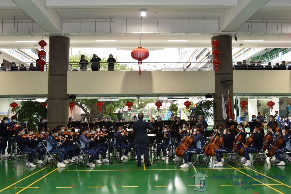 中學管弦樂團演奏-春節序曲