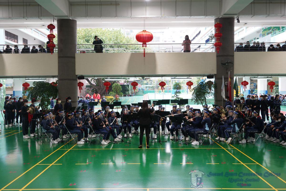 中學管樂團-鳳陽花鼓