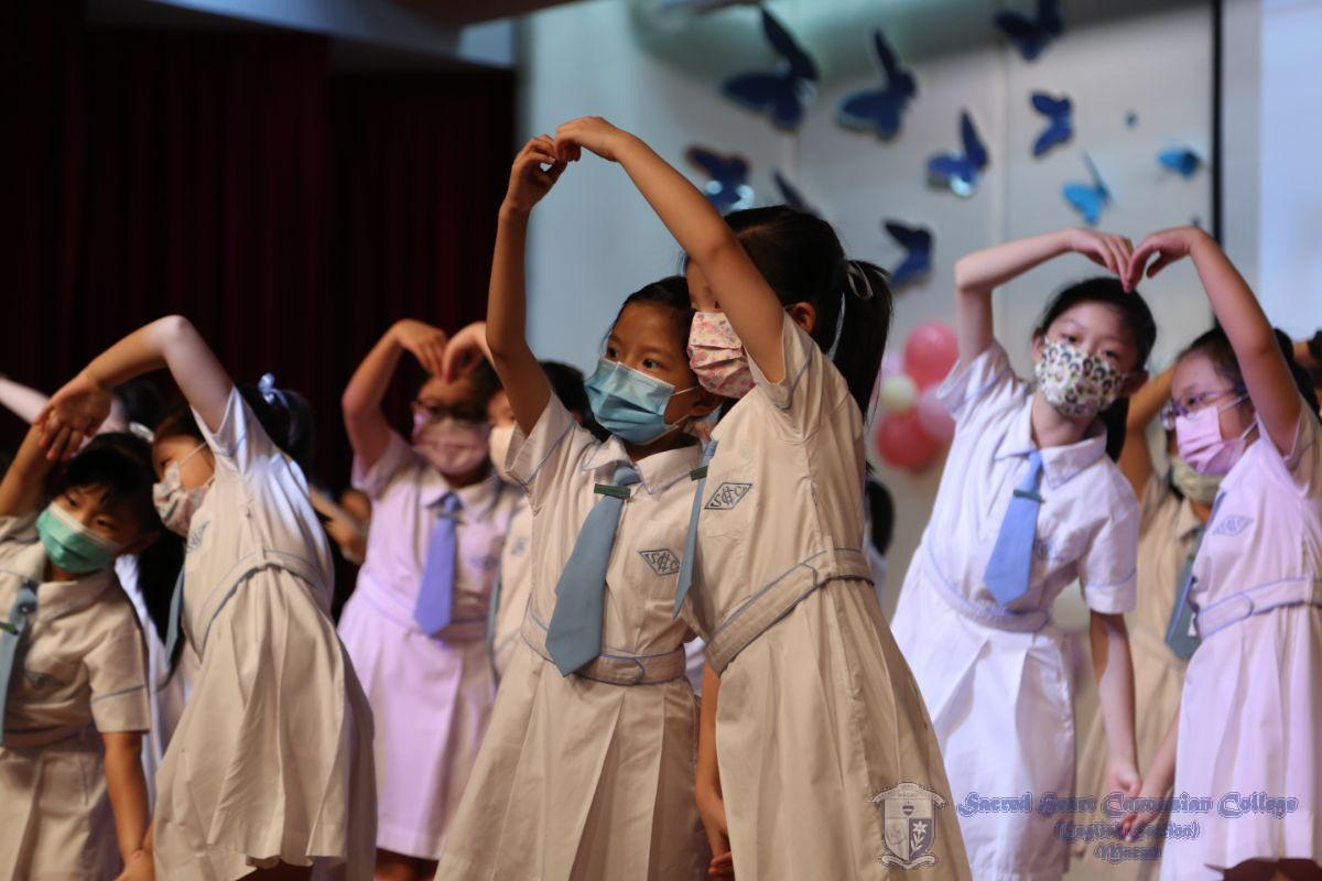 小學同學表演