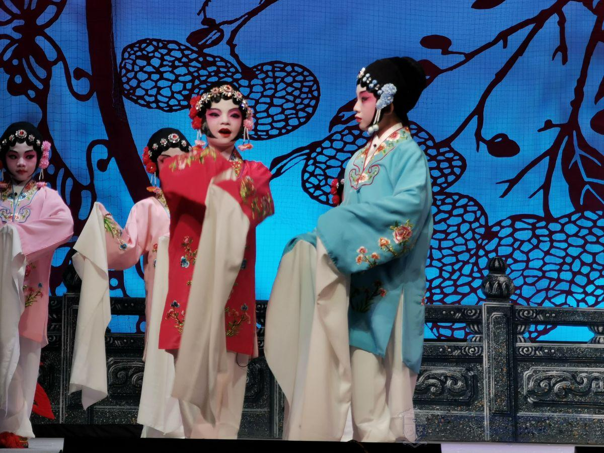 小演員在《梅花香自苦寒來》中獻唱
