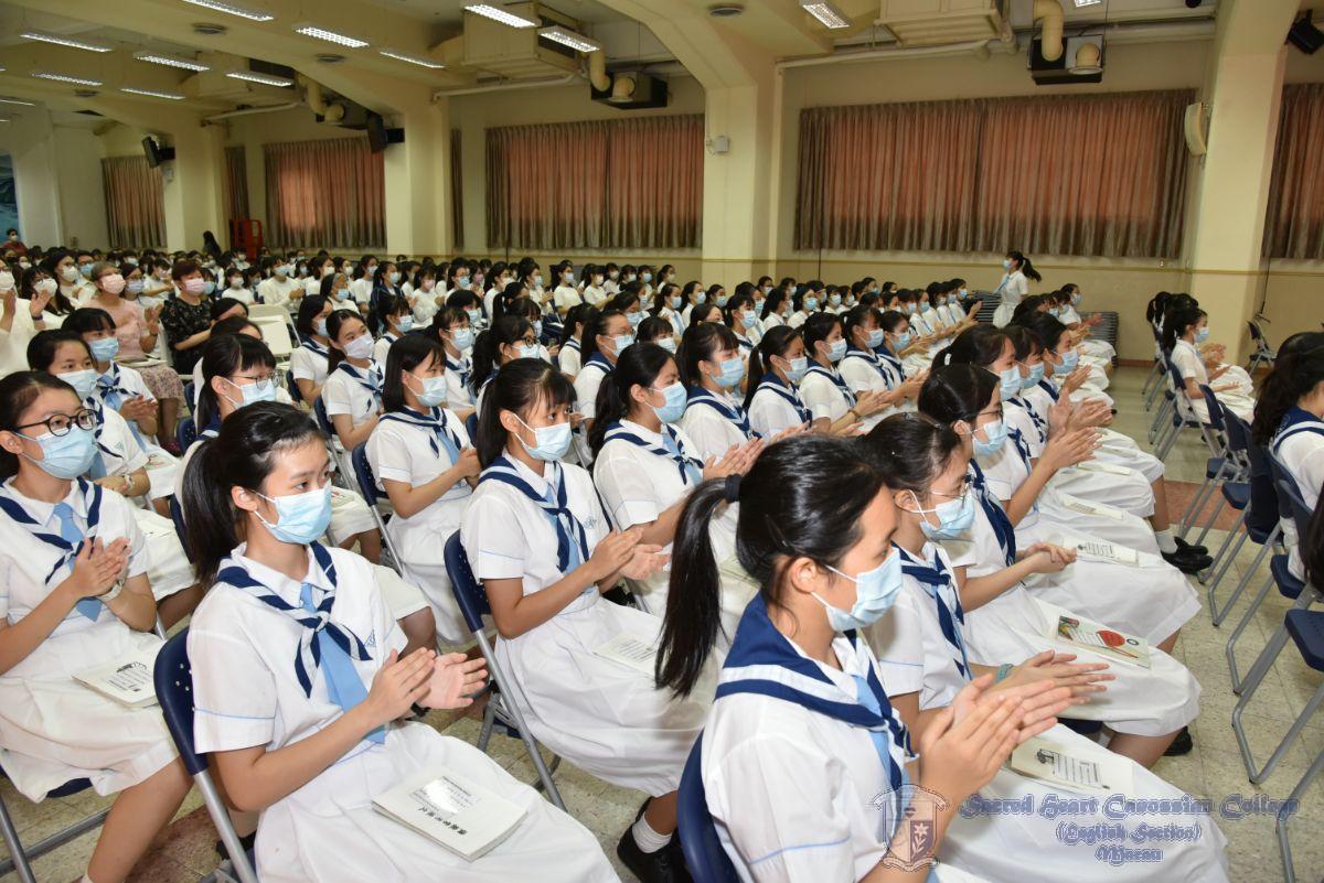 訓導組組長參與宣誓儀式
