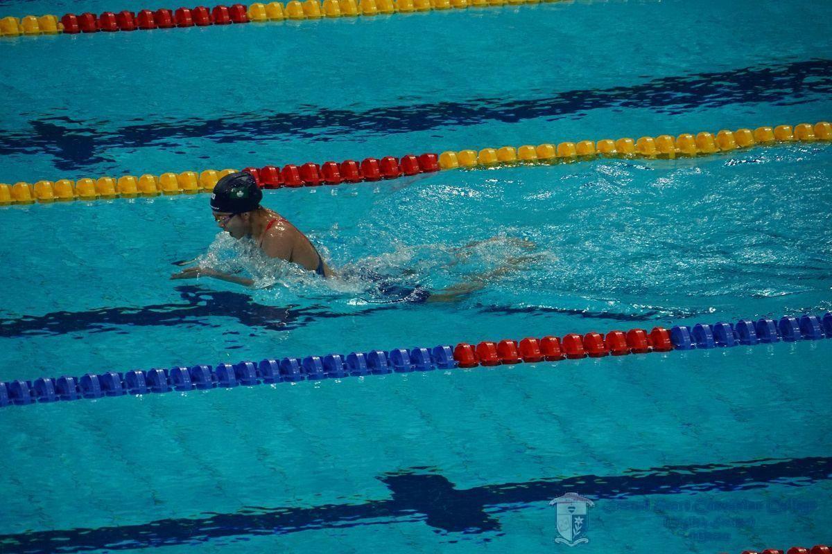 陳珮琳繼續打破自己的極限(泳總提供圖片/引自澳門體育週報)